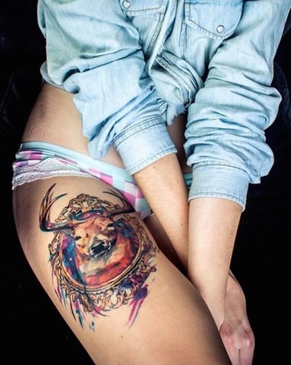 Best Thigh Tattoos