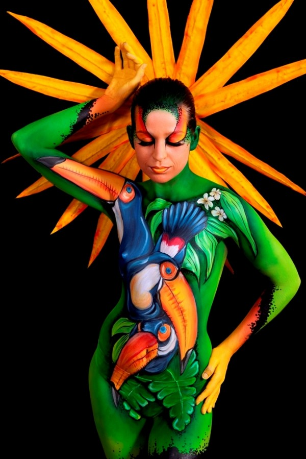 Body Paint Art Pictures