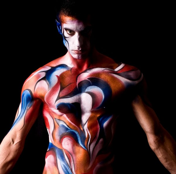 Body Paint Male