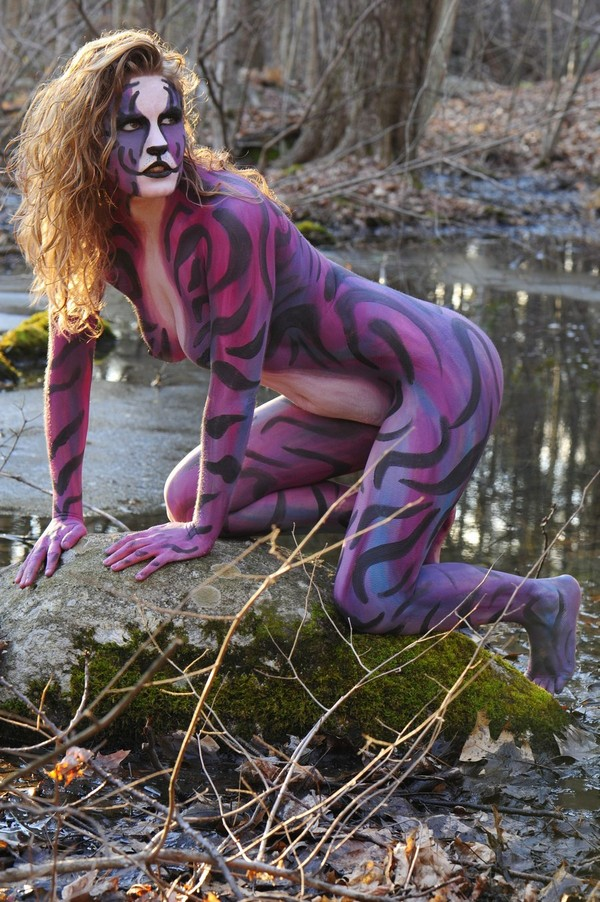 Body Paint Video