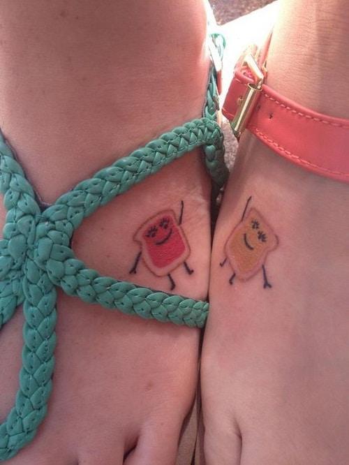 Bread Best Friend Tattoos
