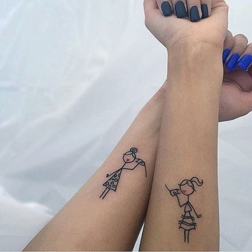 Communication Best Friend Tattoos