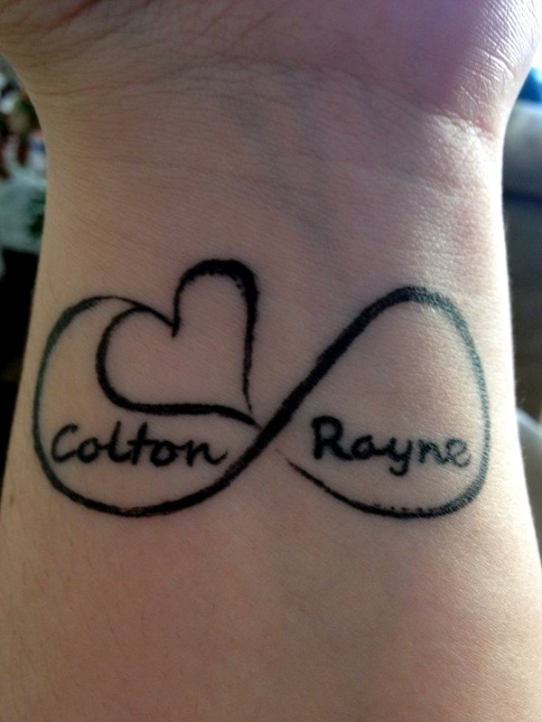Cool Name Tattoo