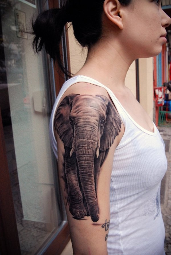 Elephant Tattoo Designs Meanings