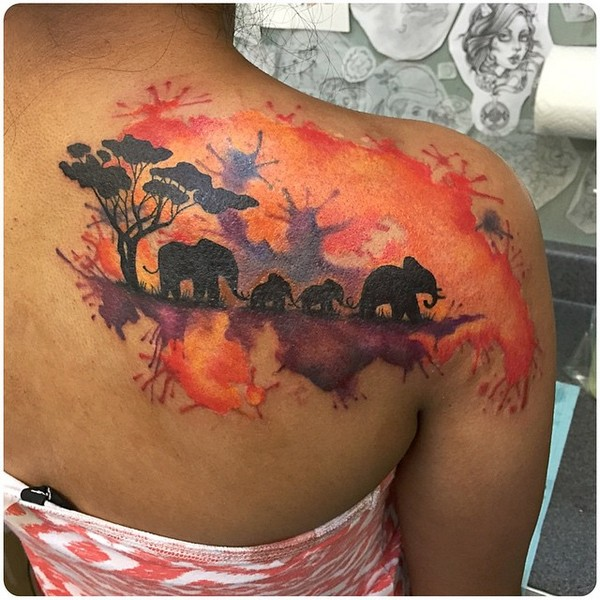 Elephant Tattoo Designs Pinterest