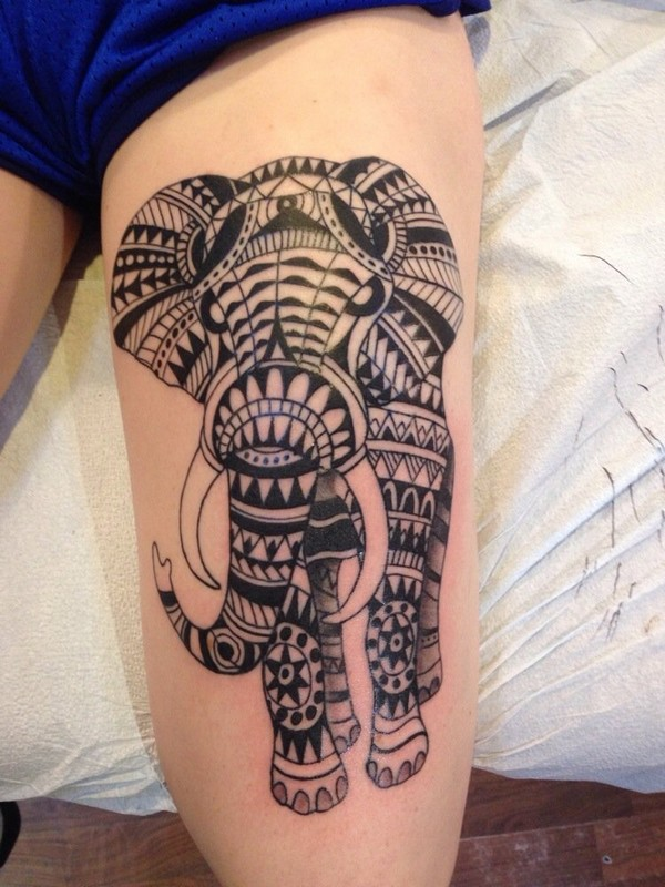 Elephant Tattoo Designs Wrist