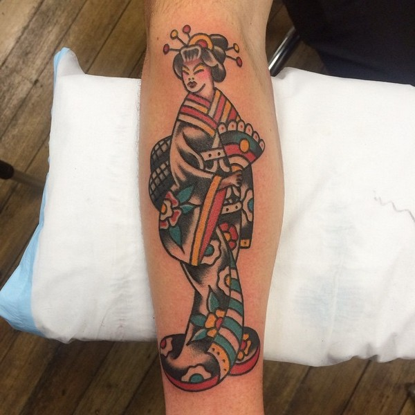 Free Geisha Tattoo Designs