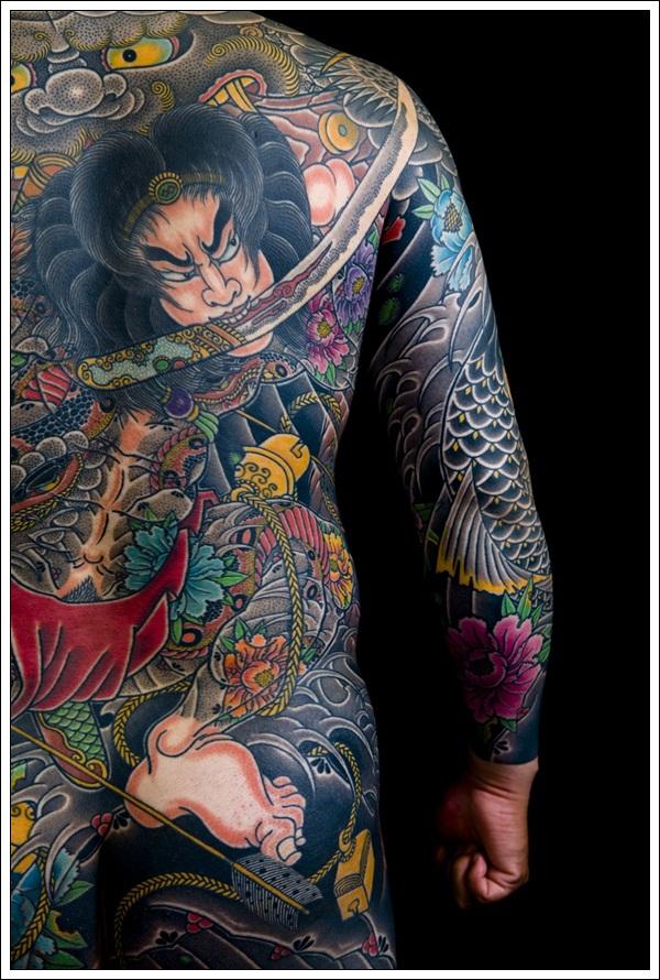 yakuza tattoo design gallery - photo #30