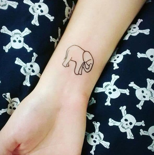 Ganesh Elephant Tattoo Meaning