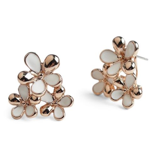 Gold Stud Earrings For Babies