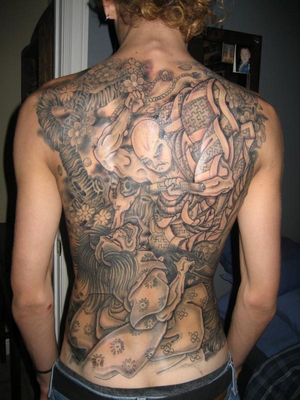 32 beautiful japanese yakuza tattoo designs and images piercings