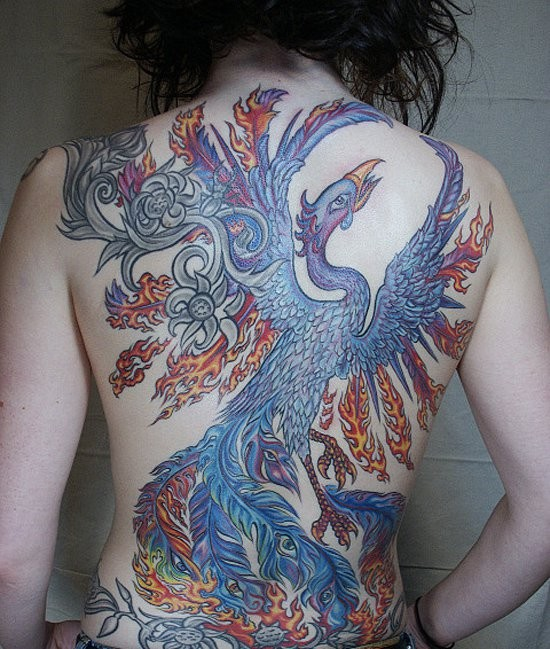 Phoenix Tattoos Designs And Ideas