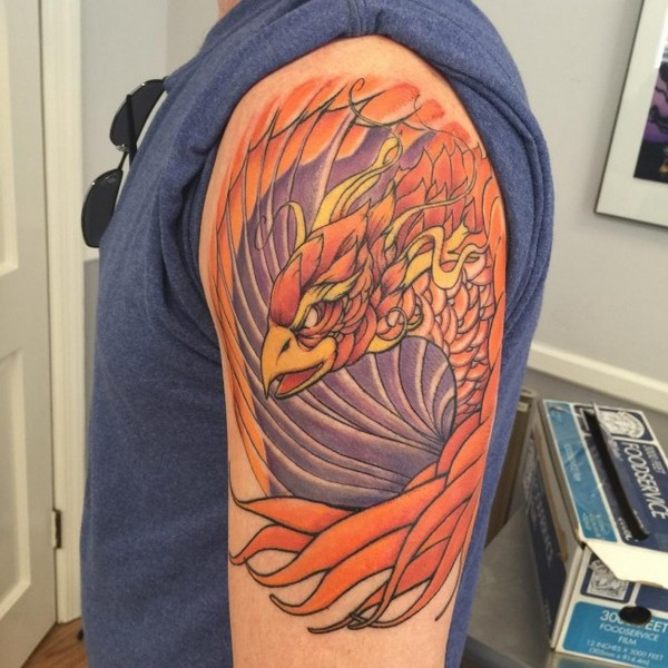 Phoenix Tattoos For Guys