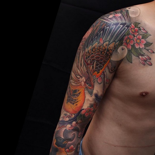 Phoenix Tattoos For Men Meaning