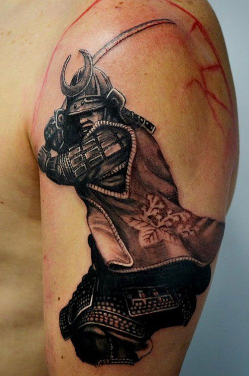 52 Samurai Tattoo Designs and Ideas with Images - Piercings Models