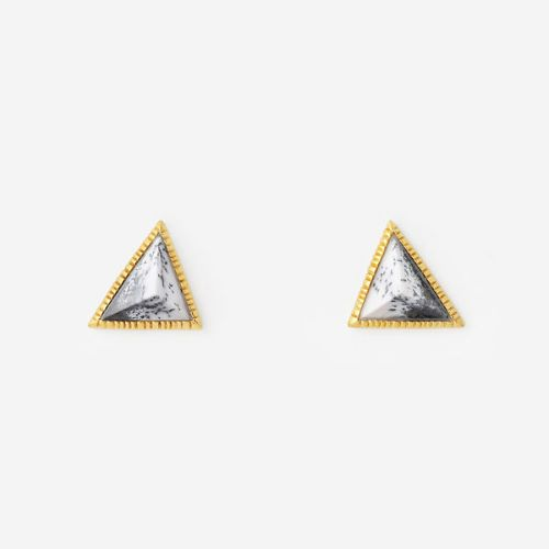 Stud Earrings Black