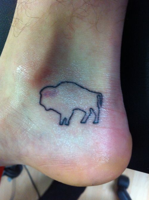 Bull Foot Tattoo