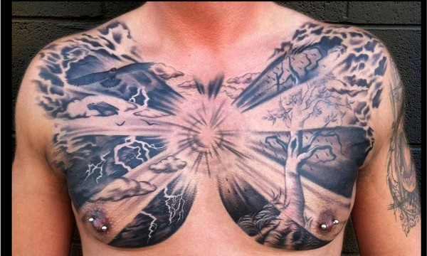 Chest Tattoo For Men
