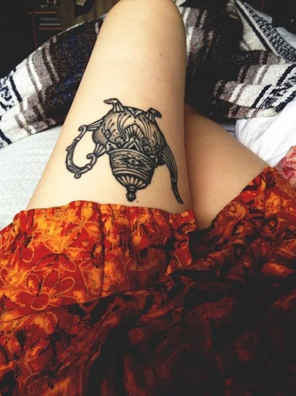 Do Upper Thigh Tattoos Hurt