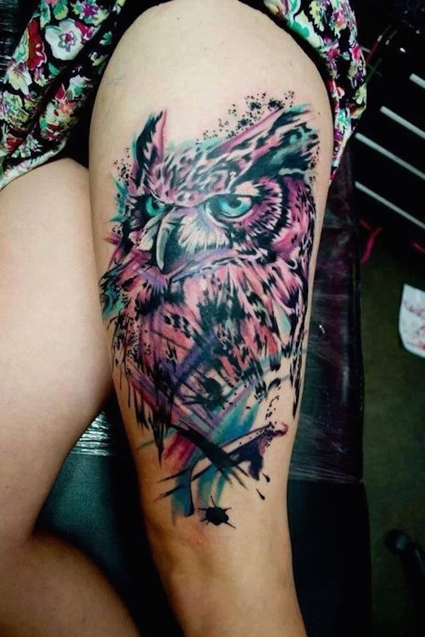 Female Hip Tattoos