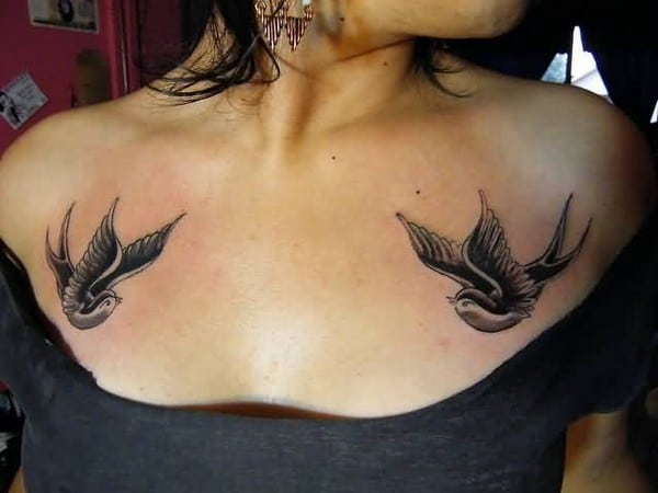Flying Birds Tattoo