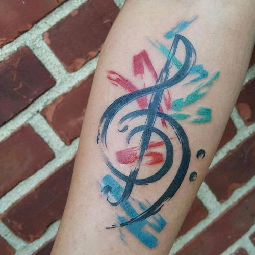52 Best Small Music Tattoos And Designs  Piercings Models