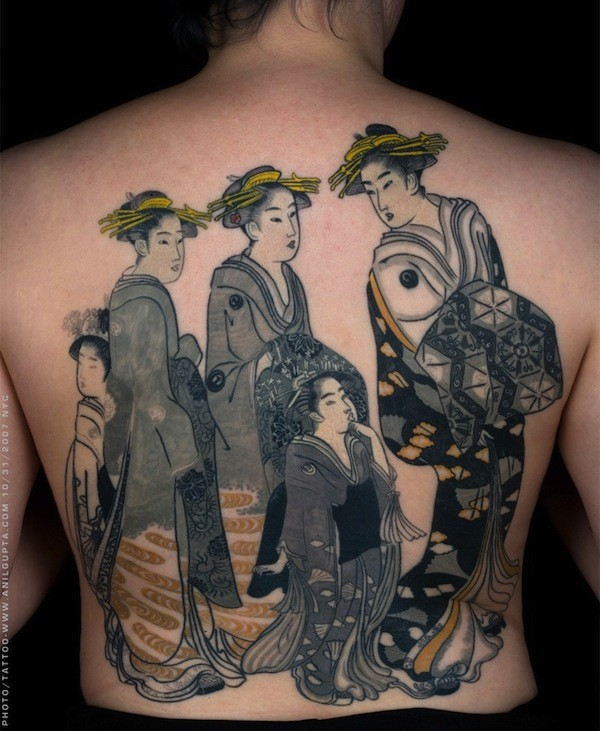 Geisha Tattoo Images