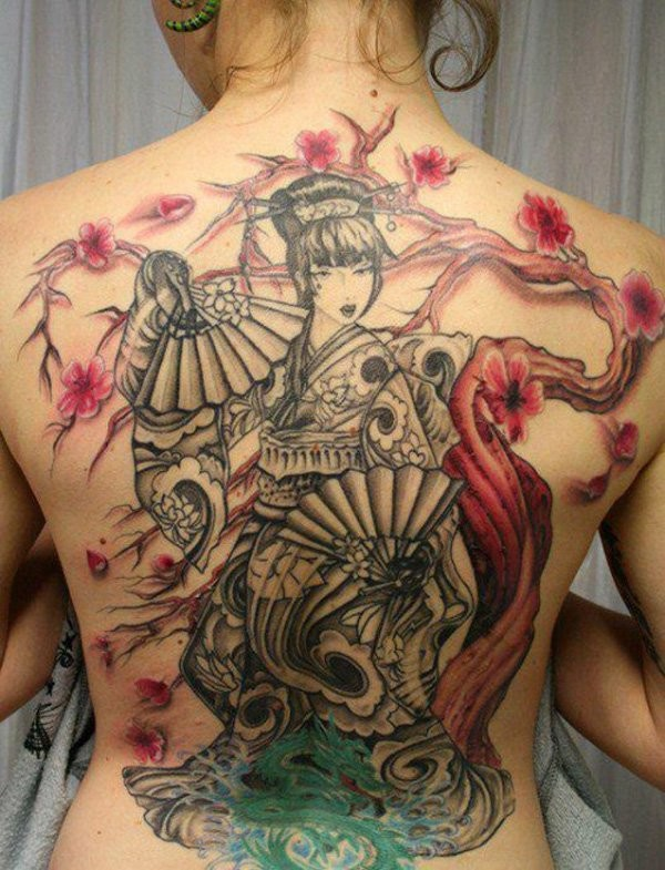Geisha Tattoo Meanings