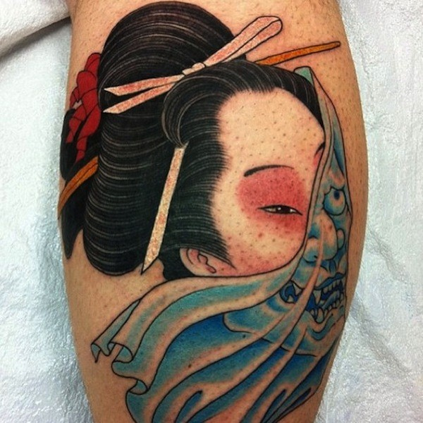 Geisha Tattoo Pictures