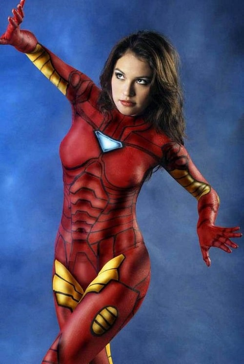 inspiration body painting female