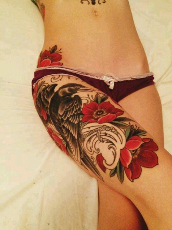 Leg Tattoos Design