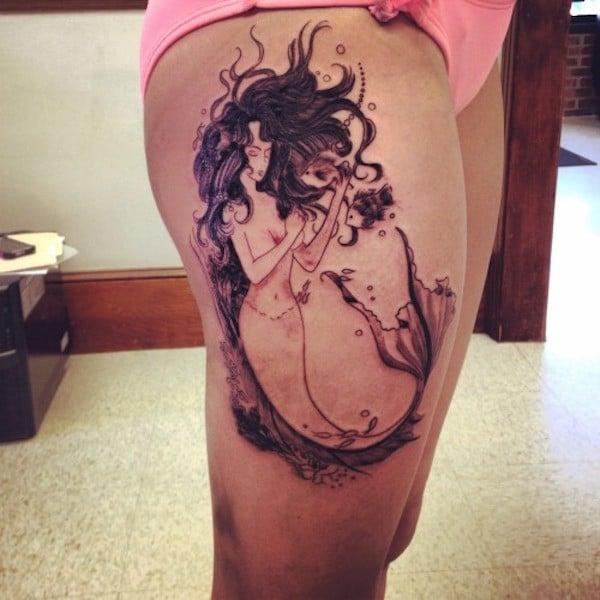 Leg Tattoos For Guys