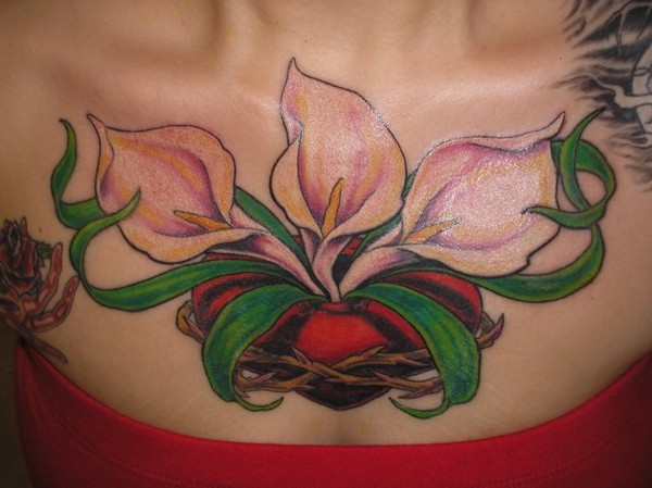 Lily Chest Piece