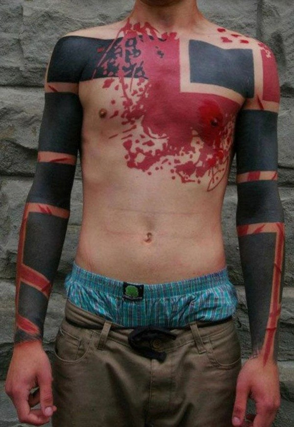 Neck Tattoos For Men Designs