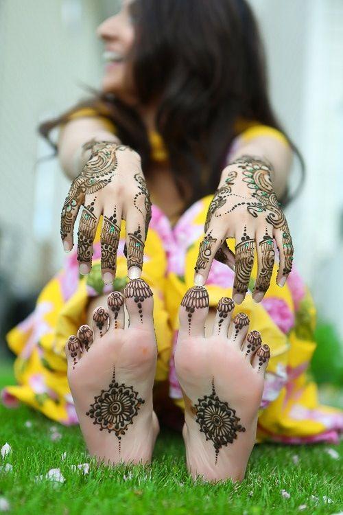 Stunning Arabic Mehndi Designs