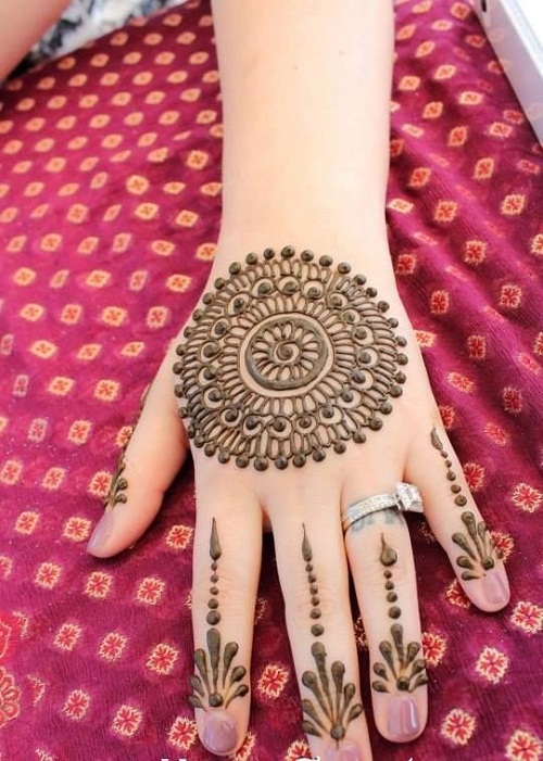 Attractive Bridal Mehndi Designs