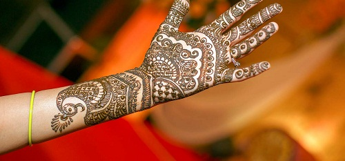 Beautiful Peacock Bridal Mehndi Designs