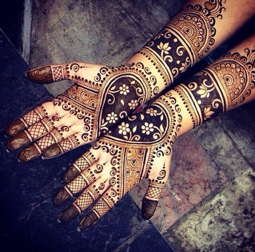 Best 2016 Bridal Mehndi Designs