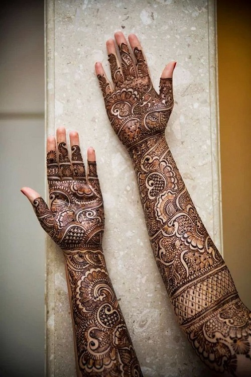 100 Latest Bridal Mehndi Designs With Images 2017
