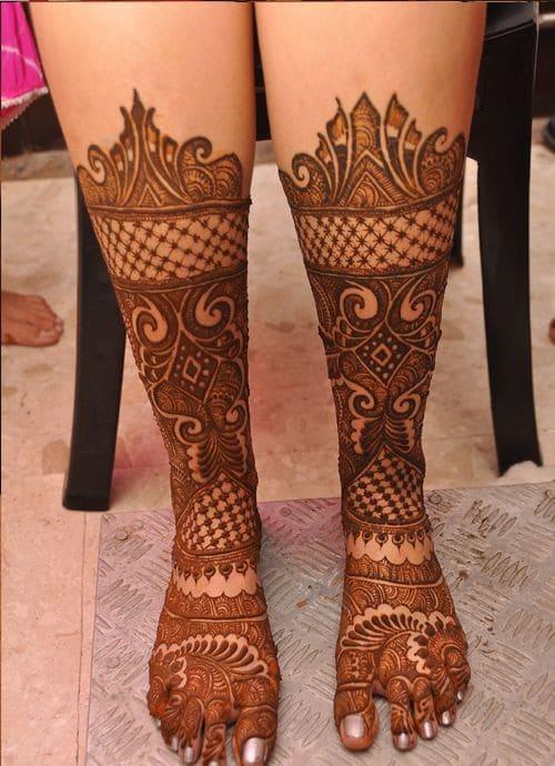Delhi Bridal Mehndi Designs