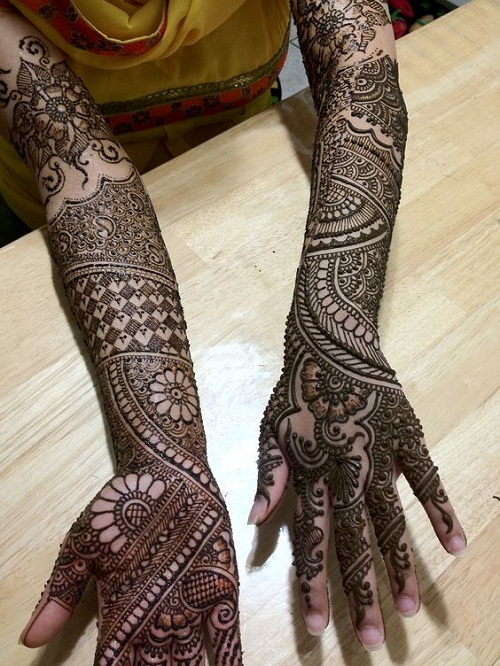 Extraordinary Design for 2016 Bridal Mehndi Designs