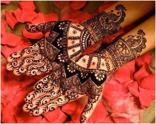 Glamour Bridal Mehndi Designs
