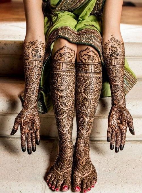 Inspiring Bridal Mehndi Designs