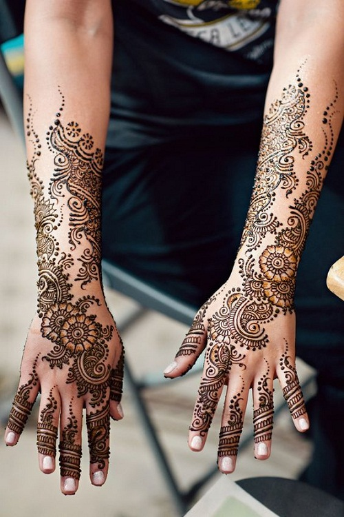 Intricate Indian Bridal Mehndi Designs