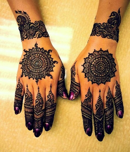 Latest Indian 2016 Bridal Mehndi Designs