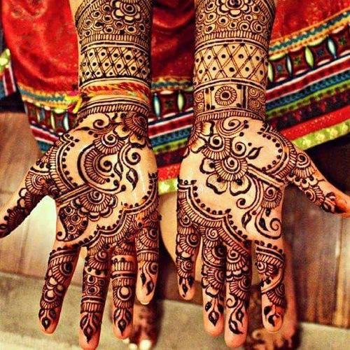 New Eid Bridal Mehndi Designs