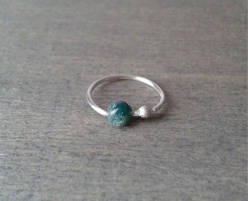 Opal Helix Piercing Stud