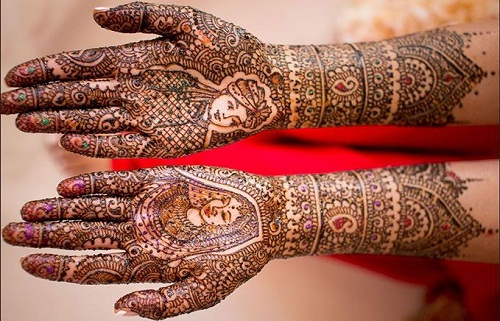 Traditional Bridal Mehndi Designs