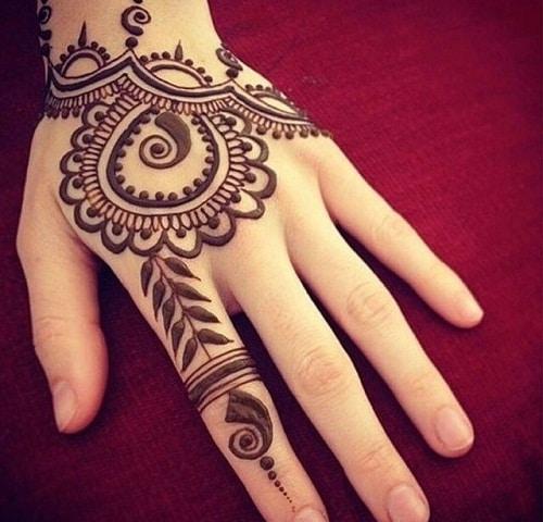 Alluring Arabic Mehndi Designs