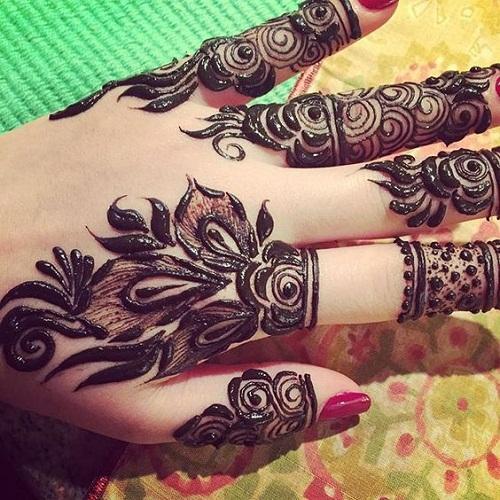 Best Hand Arabic Mehndi Designs